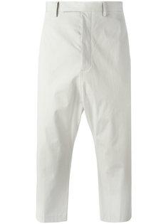укороченные брюки Astaires Rick Owens