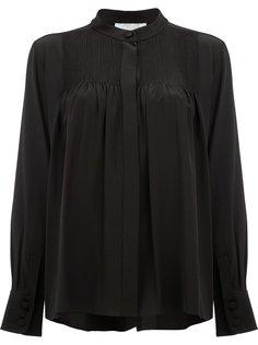 блузка с мелкими складками Chloé