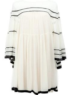 платье с широкими рукавами Chloé