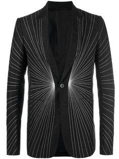 пиджак с контрастной вышивкой Rick Owens