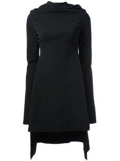 асимметричное платье Rick Owens