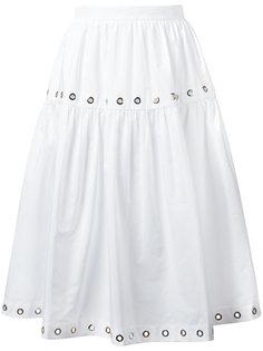 юбка с люверсами Kenzo