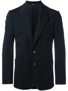 пиджак с вышивкой на кармане Dolce & Gabbana