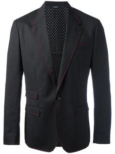 пиджак с красной строчкой Dolce & Gabbana