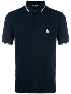 рубашка-поло с короткими рукавами Dolce & Gabbana