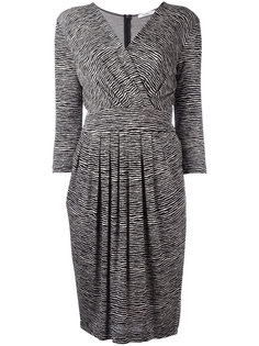 платье с зебровым принтом Max Mara