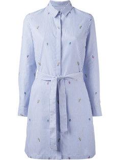 платье-рубашка с вышивкой Kenzo