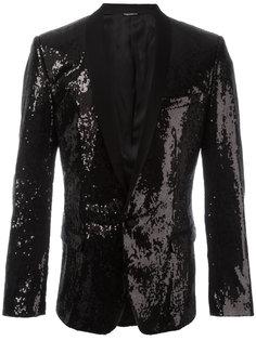 пиджак с пайетками Dolce & Gabbana