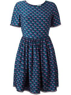 платье с пышной юбкой Kenzo