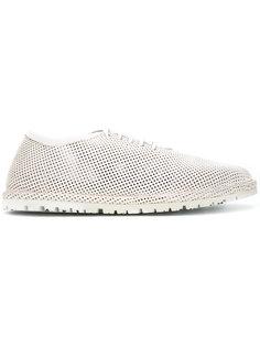 перфорированные туфли на шнуровке Marsèll