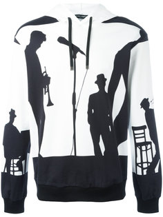 jazz musicians print hoodie Dolce & Gabbana