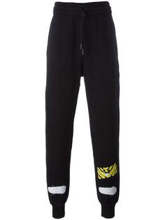 спортивные штаны с полосками Off-White