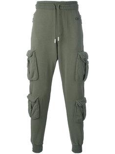 брюки мешковатого кроя Off-White