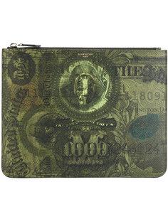 кошелек на молнии с изображением доллара Givenchy
