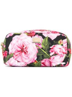 косметичка с цветочным рисунком Dolce & Gabbana