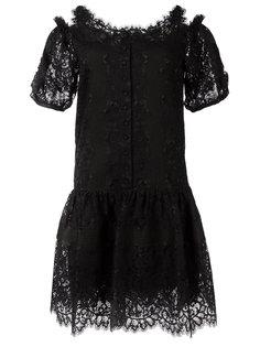 кружевное мини-платье Ermanno Scervino