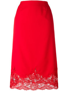 юбка с кружевным подолом Ermanno Scervino