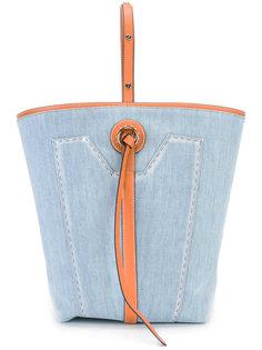 сумка-тоут с регулируемой лямкой Ermanno Scervino