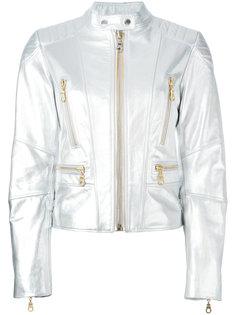 байкерская куртка с принтом Kenzo