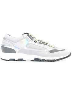 кроссовки для бега с эффектом металлик Lanvin