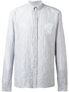 рубашка в полоску Balmain