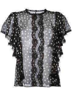 блузка в горох Dolce & Gabbana