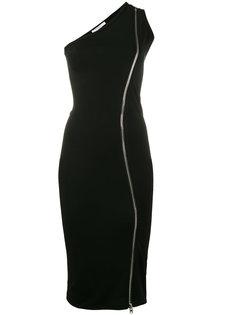 облегающее платье на одно плечо Givenchy