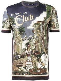 футболка с принтом Palermo Dolce & Gabbana