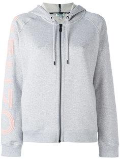 logo print hoodie Kenzo