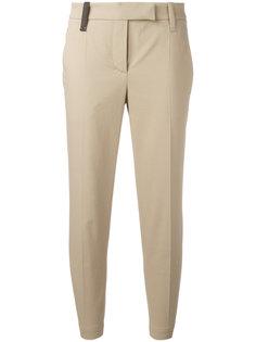 классические укороченные брюки  Brunello Cucinelli