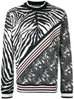 multi-print sweatshirt Dolce & Gabbana