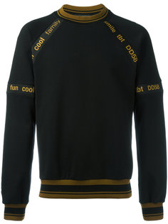 printed piped sweatshirt Dolce & Gabbana