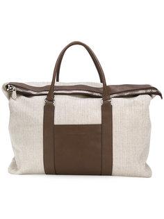 сумка-тоут с откидным верхом Brunello Cucinelli