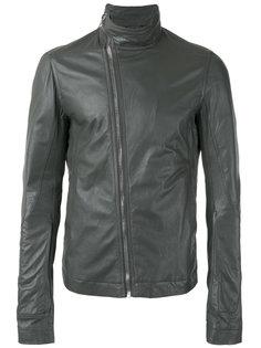 куртка с воротником-воронкой Rick Owens