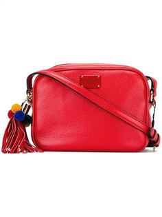 сумка на плечо с помпонами Dolce & Gabbana