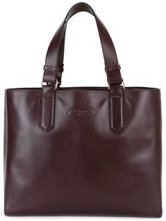 сумка-тоут с тиснением логотипа Lanvin