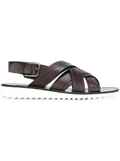 сандалии с плетеным дизайном Dolce & Gabbana