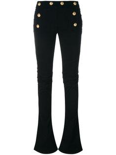 расклешенные джинсы Balmain