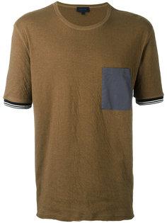 футболка с контрастным нагрудным карманом Lanvin