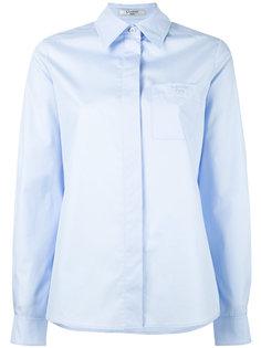 рубашка с накладным карманом Lanvin