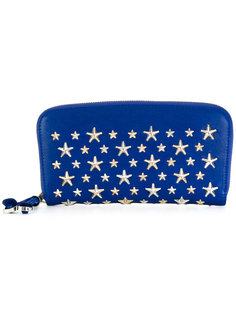 кошелек с заклепками в форме звезд Jimmy Choo