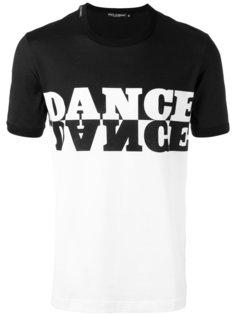 футболка с принтом dance Dolce & Gabbana