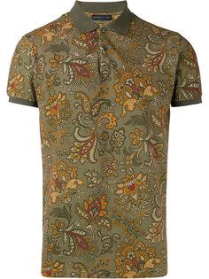 рубашка-поло с цветочным узором Etro