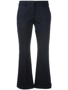 расклешенные укороченные брюки Brunello Cucinelli