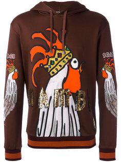 sequin print hoodie  Dolce & Gabbana