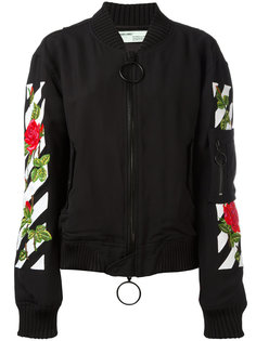 roses logo bomber jacket  Off-White