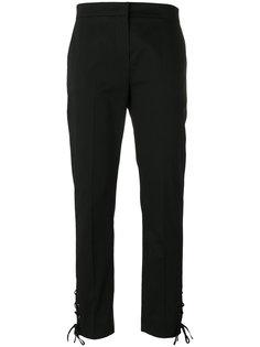 брюки с деталями на шнуровке Max Mara