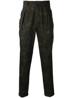 плиссированные брюки-чинос Etro