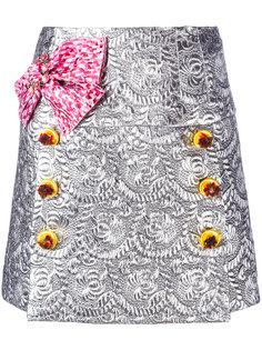 парчовая мини юбка Dolce & Gabbana