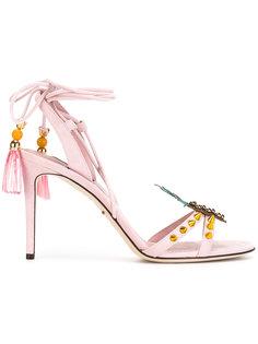 босоножки с ананасом Dolce & Gabbana